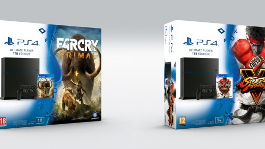 Les bundle SFV et Far Cry Primal ;) !