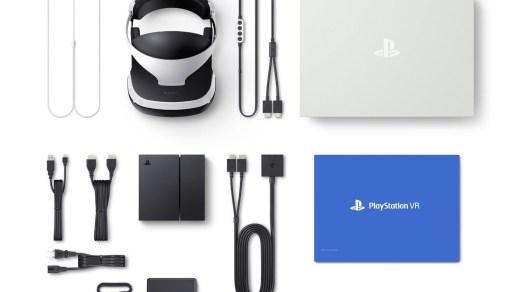 Le Playstation VR et tout son attirail !