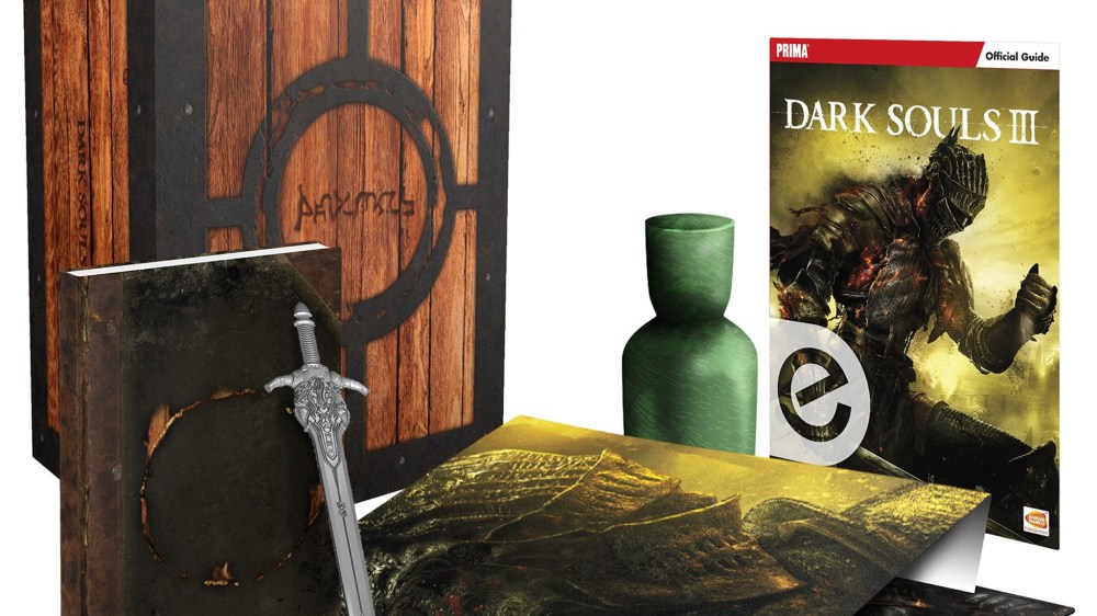 "Guide ""Dark Souls 3"" en édition collector"
