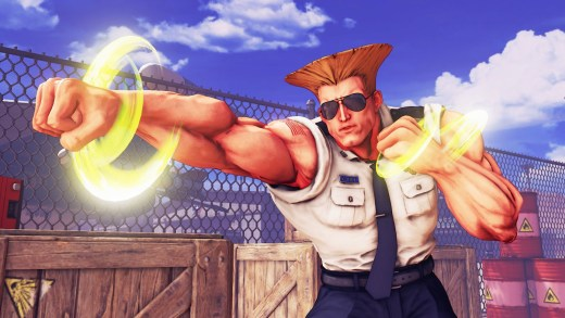 Guile dans Street Fighter V