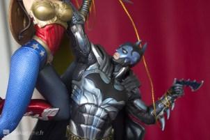 La Figurine Wonder Woman vs Batman de l'édition collector d'Injustice !
