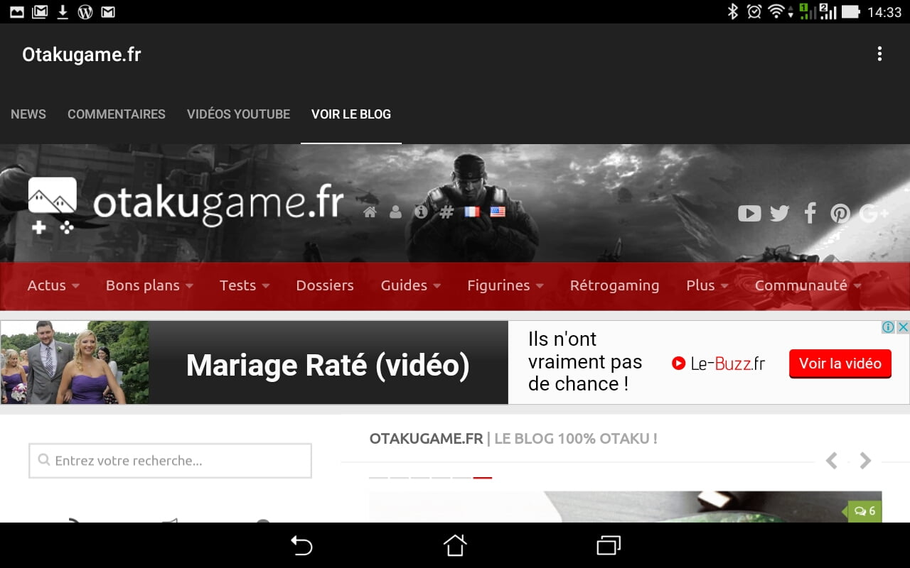 Application Android Otakugame.Fr