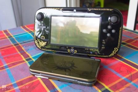 Wii U édition collector Zelda & 3DS édition collector Zelda Majora's Mask