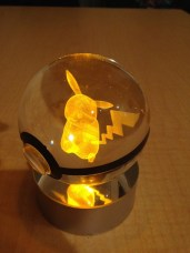 Pokéball Crystal Pikachu