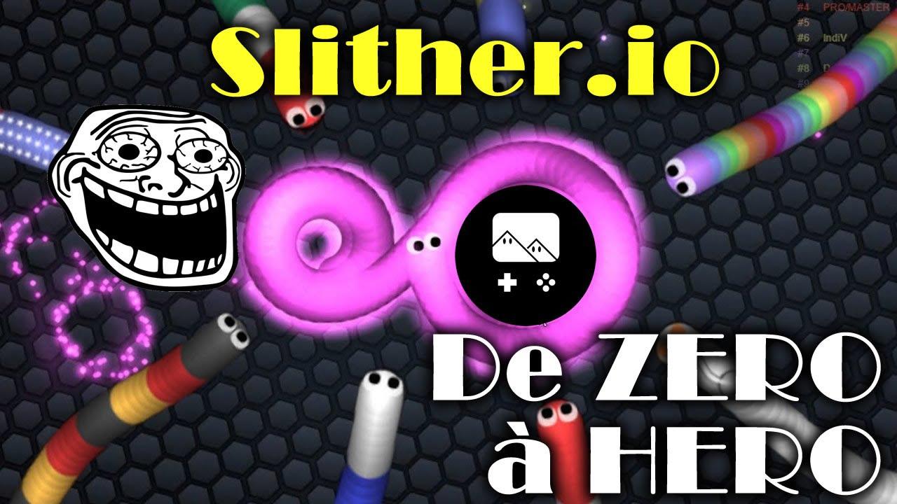 Lets Play Slitherio Avec Un Peu Plus De Level