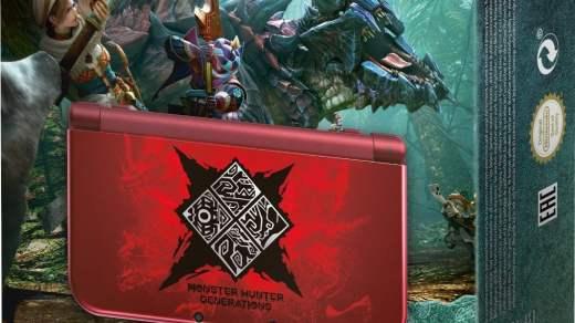 La new 3DS XL débarque dont en rouge de façon officielle en Europe via cette édition collector !