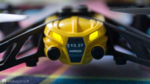 Faut l'avouer, ce petit Drone a quand même de la gueule ;) !