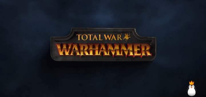 L'écran titre de Total War Warhammer.