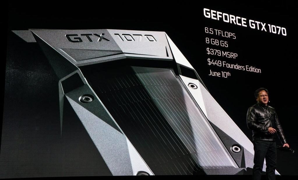 L'impressionnante GTX 1070