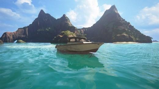 Uncharted 4 propose un rendu des îles paradisiaque... Ca me rappelle Crysis premier du nom tiens !