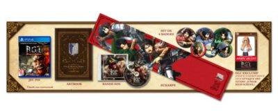 Le collector de l'Attaque des Titans sur PS4 !