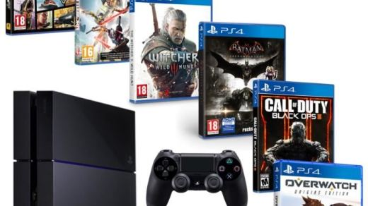 Une PS4 avec 6 jeux à moins de 399€ ? C'est chez CDiscount !