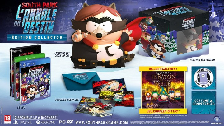 South Park l'annale du destion édition collector