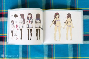Artbook de l'édition collector de Gal*Gun Double Peace