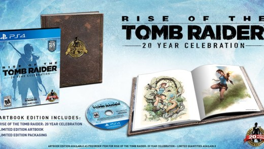 L'édition collector de Rise of The Tomb Raider sur PS4