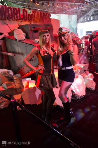 Gamescom 2016 - Hotesses World of Tanks
