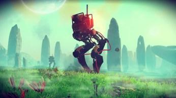 Apparemment, il y a d'étranges robots bipèdes à découvrir...