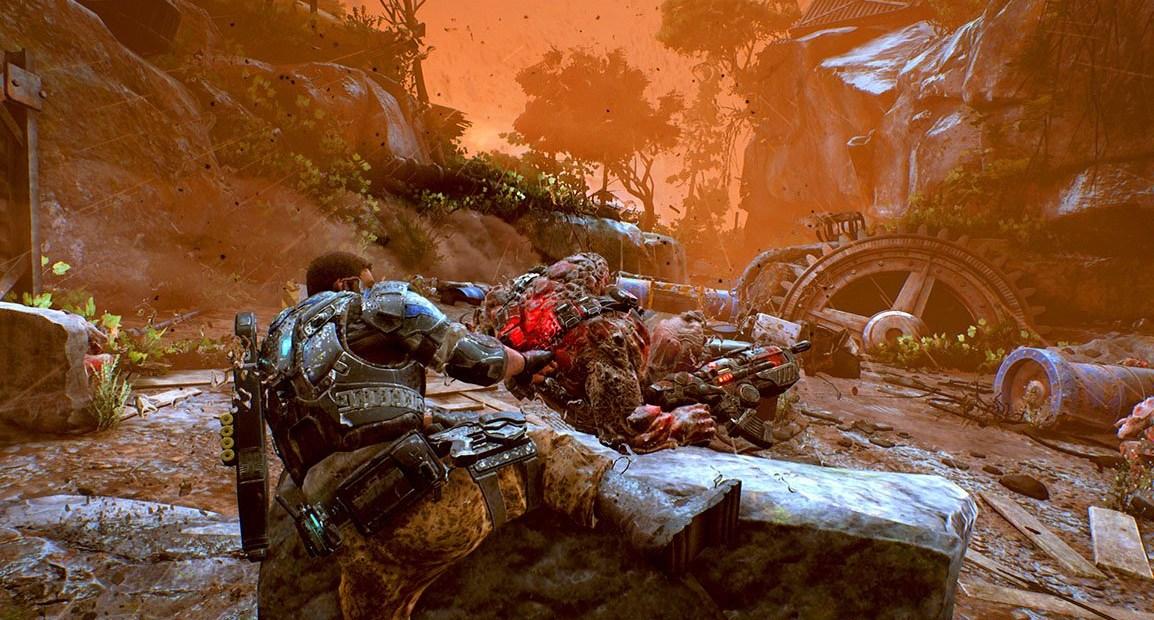 Gears of War 4 s'annonce magnifique en multijoueur !