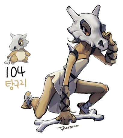 104_cubone_by_tamtamdi-d93yuon
