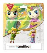 Les Amiibo Toon Link et Toon Zelda de Wind Waker