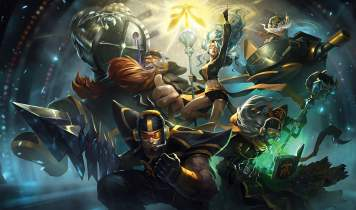 Artwork de League of Legend