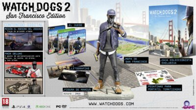L'édition collector de Watch Dogs 2 (San Francisco) !