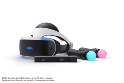 Le Playstation VR et tout ses accessoires !