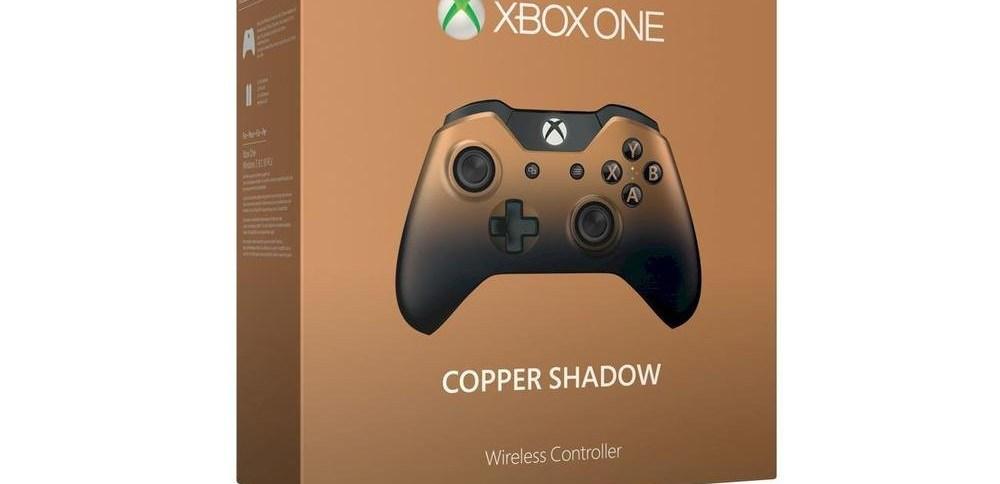 Promo sur la manette Xbox One Copper Shadow