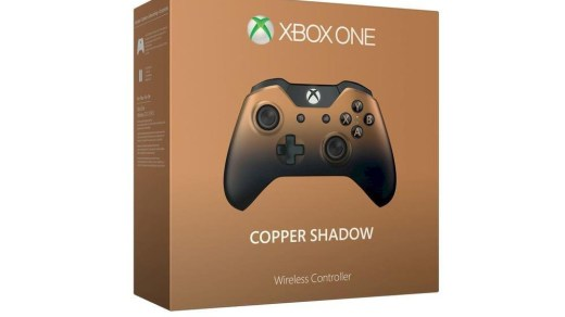 Promo sur la manette Xbox One Copper Shadow