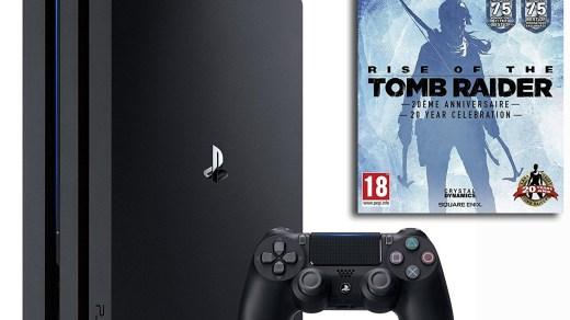 La PS4 Pro + Rise of The Tomb Raider à 399€ !