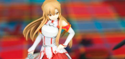 Figurines de l'édition collector de Sword Art Online
