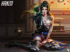 Sexy Overwatch : Hanzo
