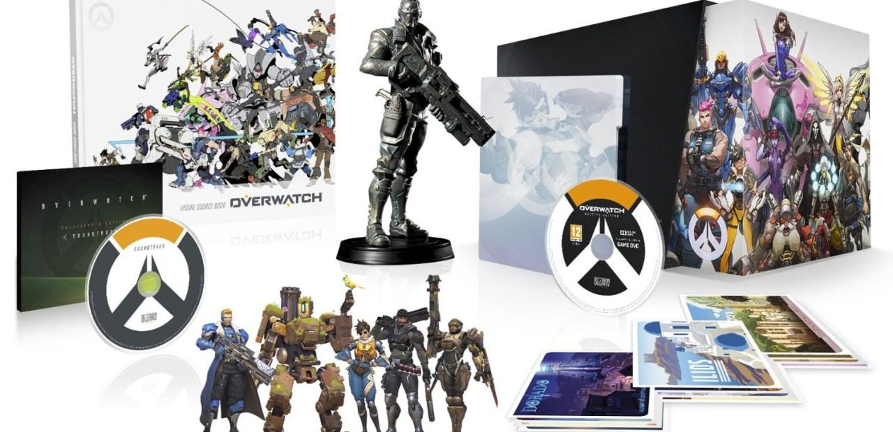 L'édition collector d'Overwatch est super fournie en plus !