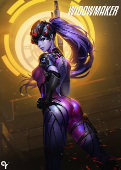 Sexy Overwatch : Widowmaker (Fatale)