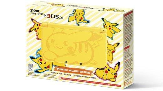 Une 3DS XL aux couleurs de Pikachu alors que la Switch arrive ?!