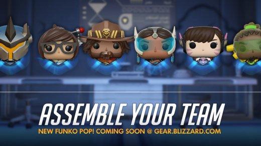 Les Funko Pop Reinhardt, D.Va, Mei, McCree, Symmetra et Lucio arrivent sur le Gears Blizzard !