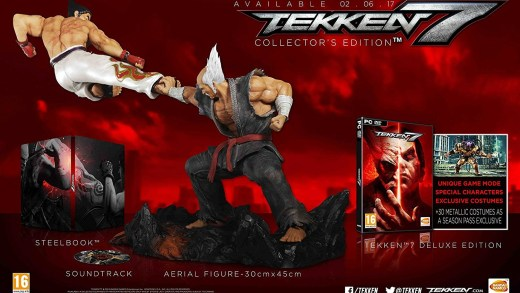 L'édition collector de Tekken 7