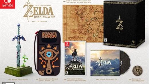 Je pense que l'on tient là le premier collector de la Nintendo Switch !