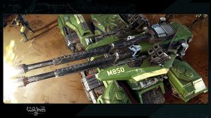 Halo Wars 2 Blitz Grizzly Tank