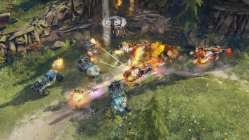 Halo Wars 2 Campaign One Three Zero Burning Choppers