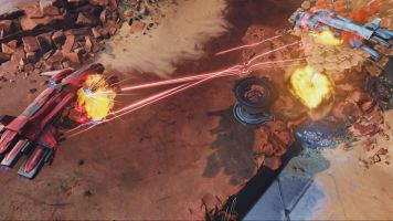 Halo Wars 2 MP Ashes 1v1 Lasers