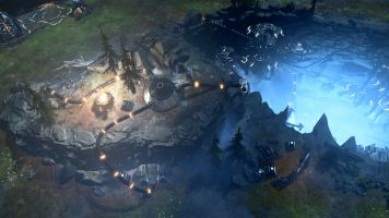 Halo Wars 2 MP Rift Hole in the Ground