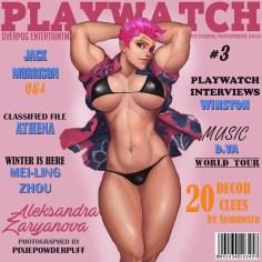 Playwatch featuring Zarya