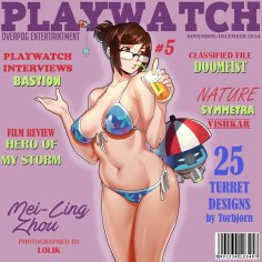 Playwatch featuring Mei