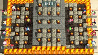 On peut bien sûr retrouver du fun dans ce Bomberman R entre potes ;) !