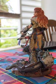 Figurine de l'édition collector de Horizon Zero Dawn (Aloy)
