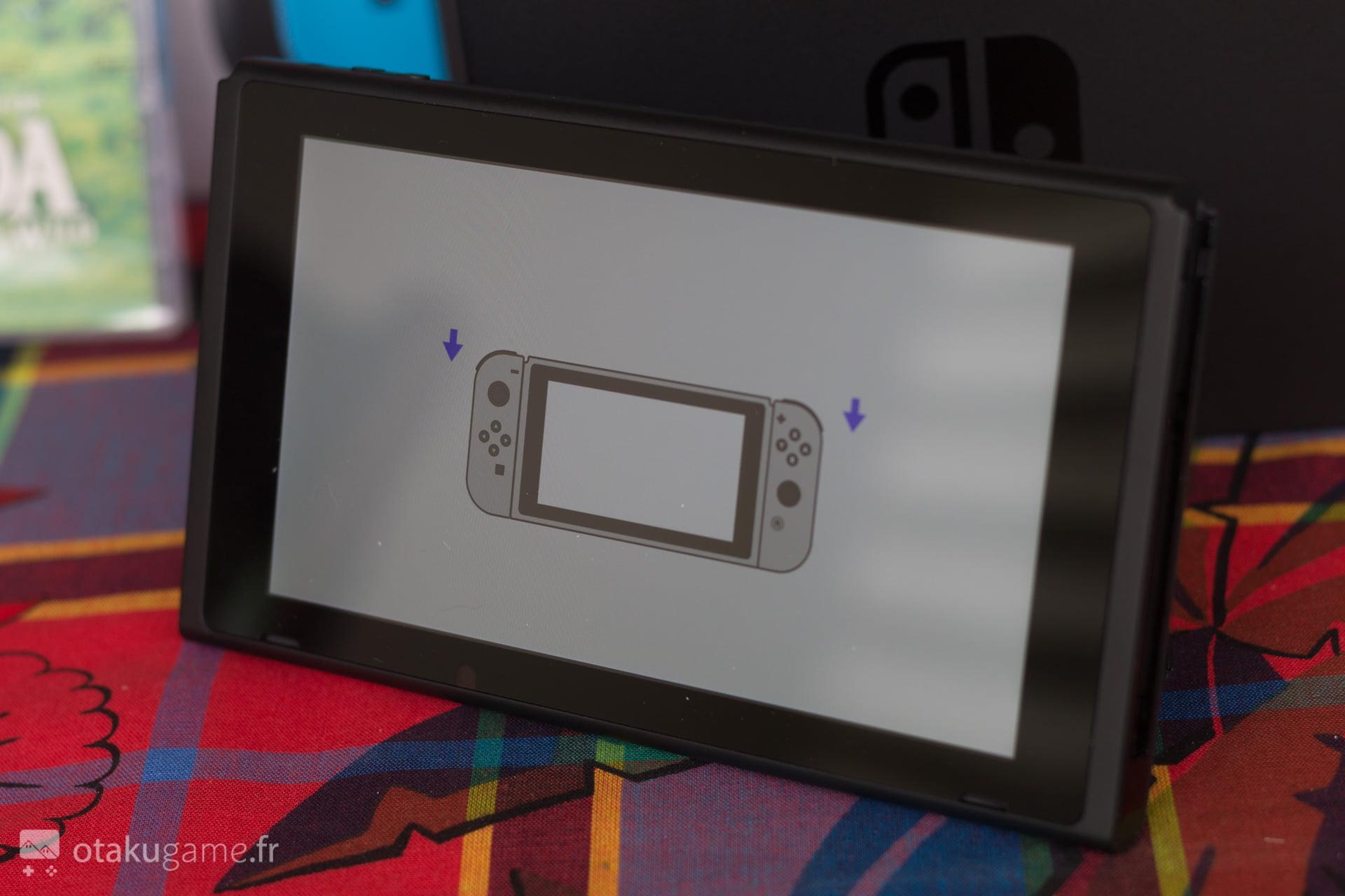 Peu de fonctionnalités sur cette Nintendo Switch...