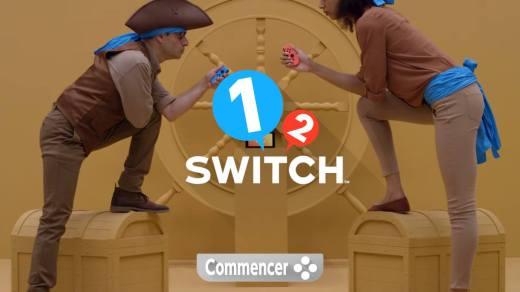 1-2 Switch, le nouveau Party Game de Nintendo !