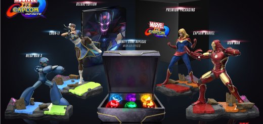 Le collector de Marvel vs Capcom Infinite a possède une classe infinie :) !