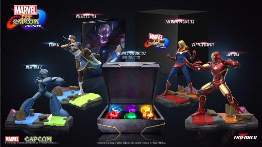 Le collector de Marvel vs Capcom Infinite a possède une classe infinie :) !